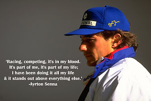 Ayrton Senna's quote #6