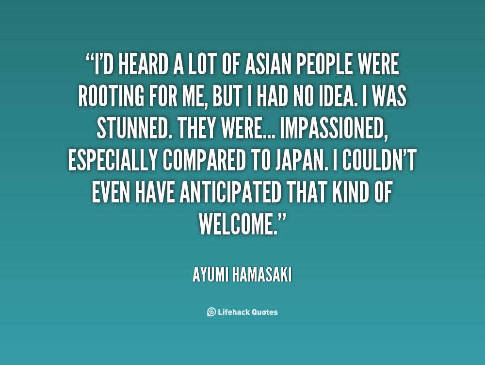 Ayumi Hamasaki's quote #5