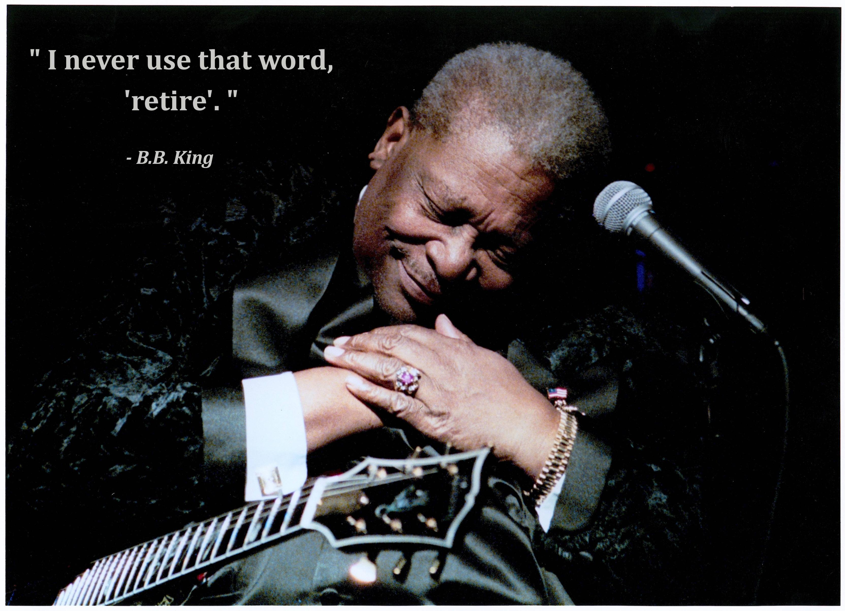 B. B. King's quote #8