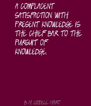 B. H. Liddell Hart's quote #1