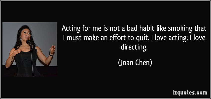 Bad Acting quote #1
