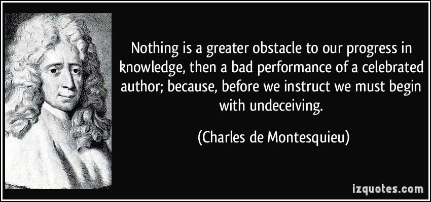 Bad Performance quote #2