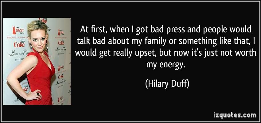 Bad Press quote #2