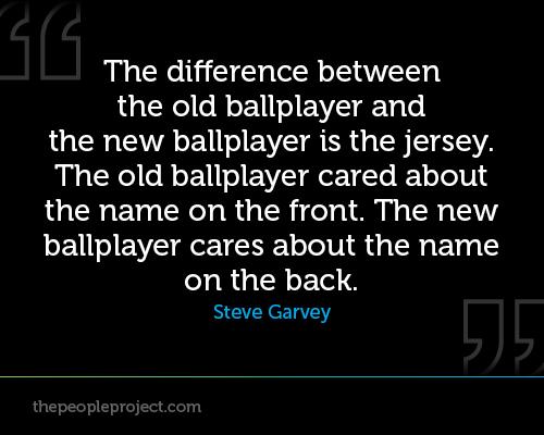 Ballplayer quote #2
