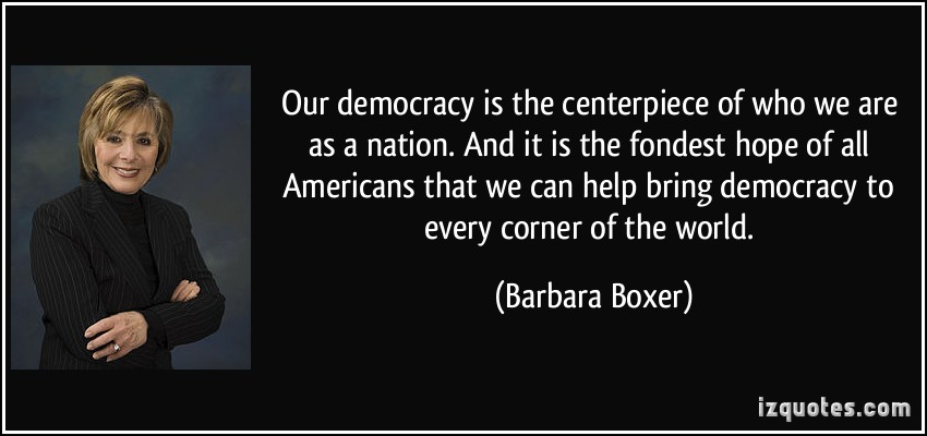 Barbara Boxer's quote #2