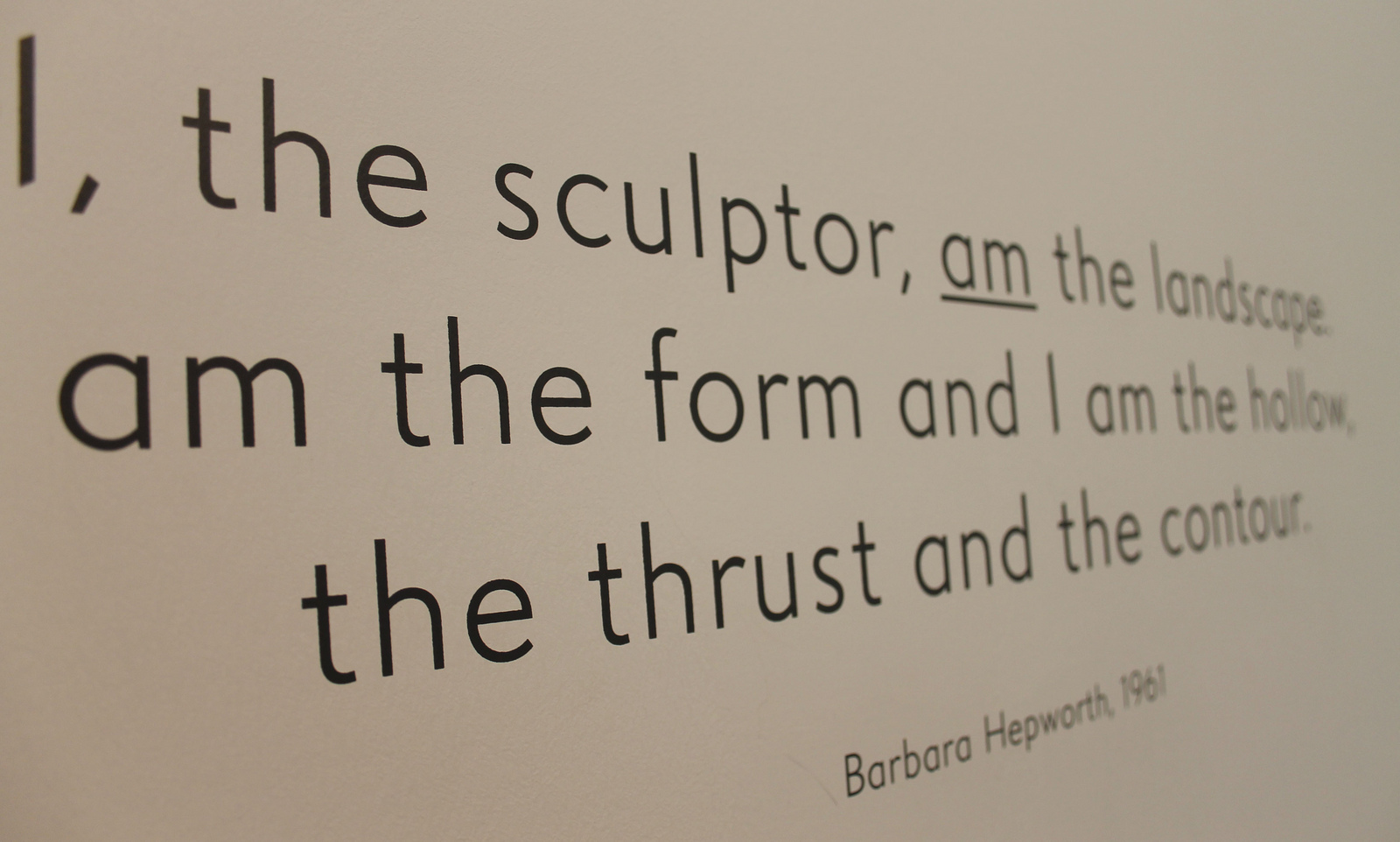 Barbara Hepworth's quote #1