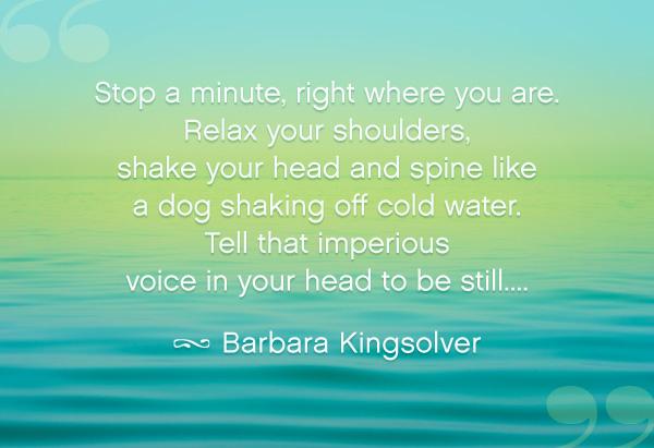Barbara Kingsolver's quote #3