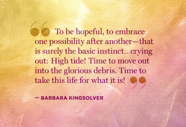 Barbara Kingsolver's quote #6