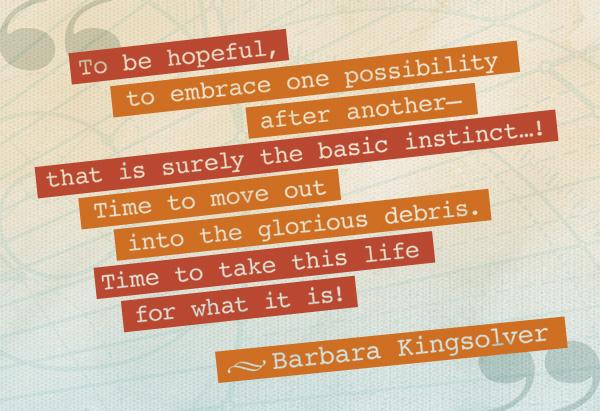 Barbara Kingsolver's quote #1
