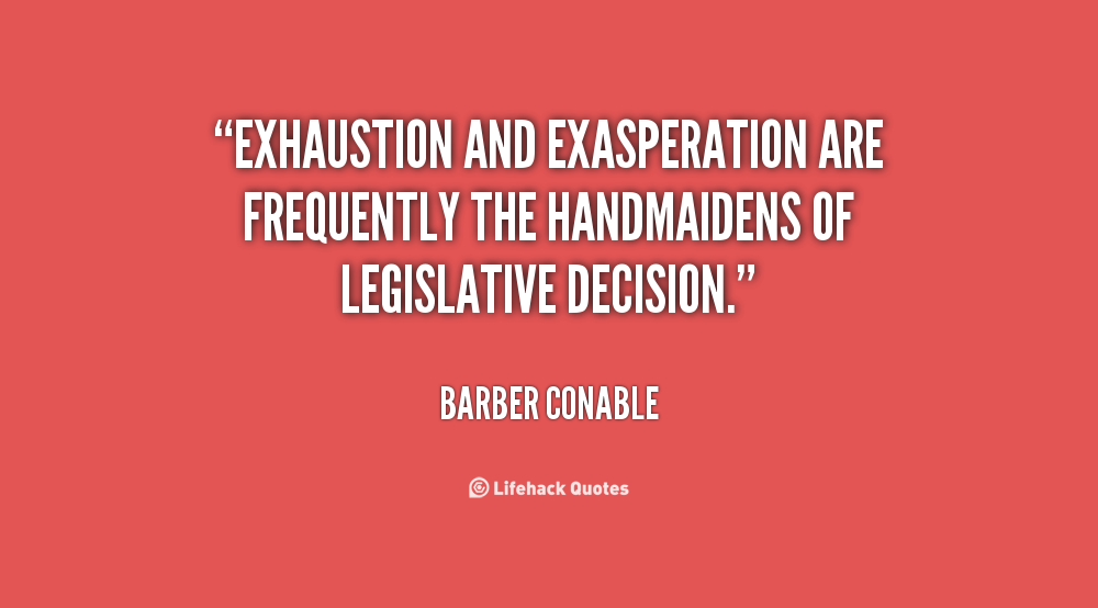Barber Conable's quote #1