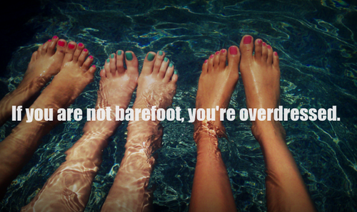 Barefoot quote #1