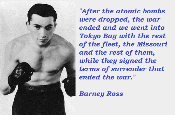 Barney Ross's quote