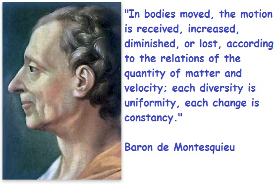 Baron de Montesquieu's quote #2