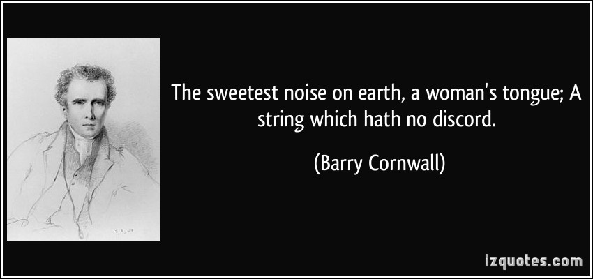 Barry Cornwall's quote #1