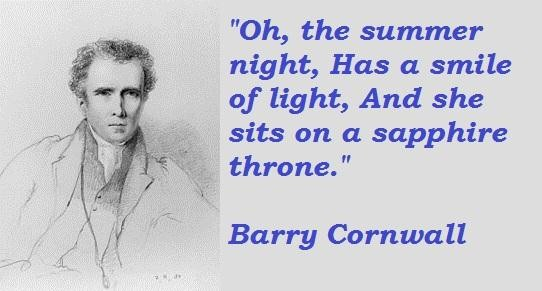 Barry Cornwall's quote #2
