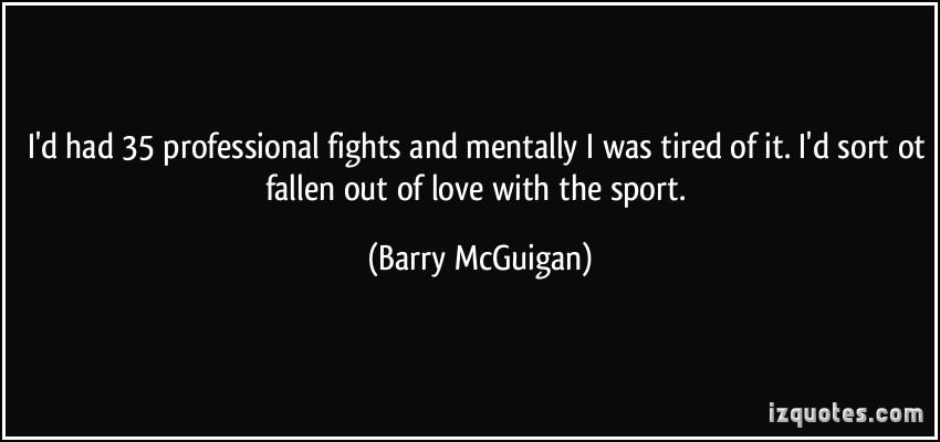 Barry McGuigan's quote #5
