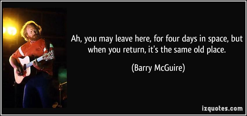 Barry McGuire's quote #3