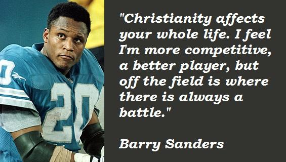 Barry Sanders's quote #8