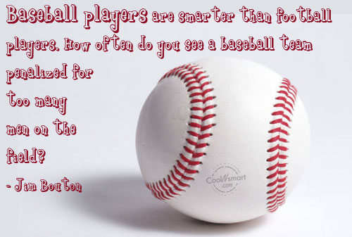 Baseball Player quote #1