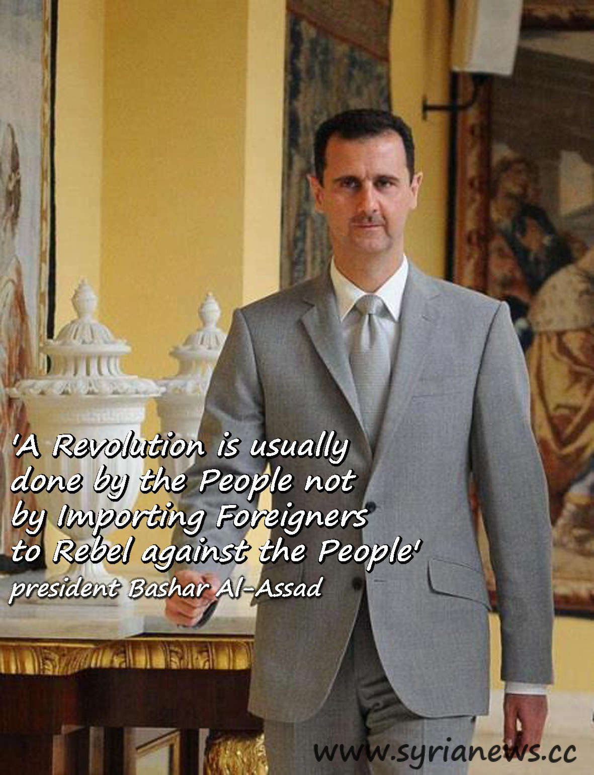 Bashar al-Assad's quote #8