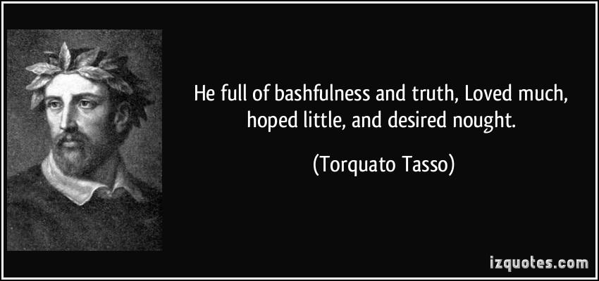 Bashfulness quote #1