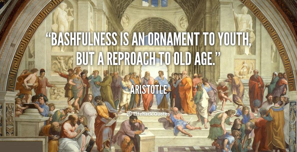 Bashfulness quote #2