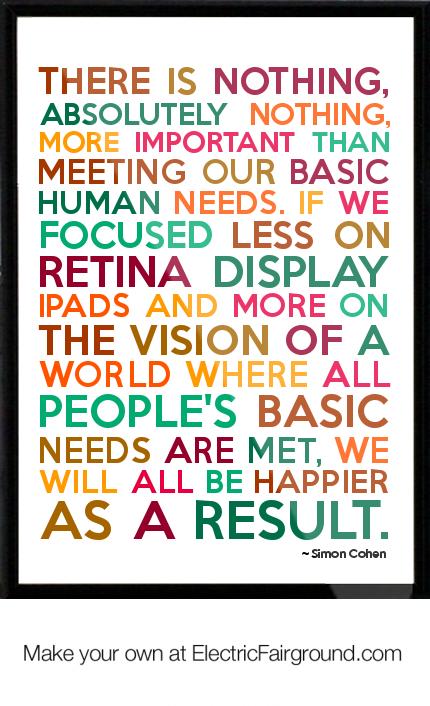 Basic Needs quote #2