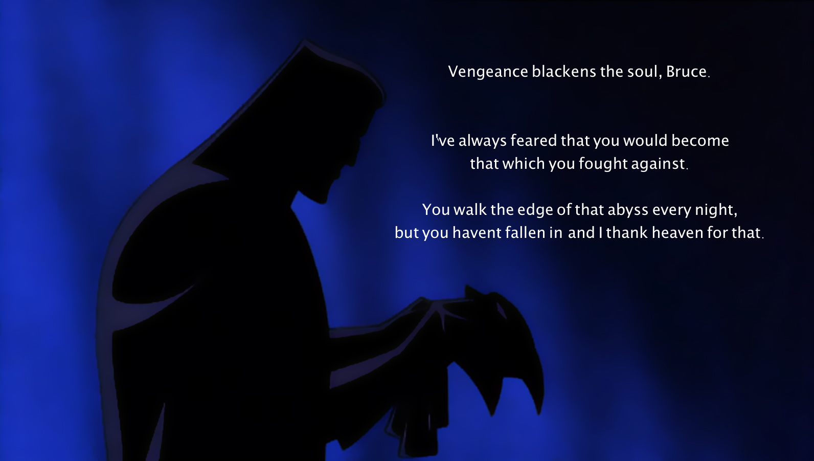 Batman quote #3