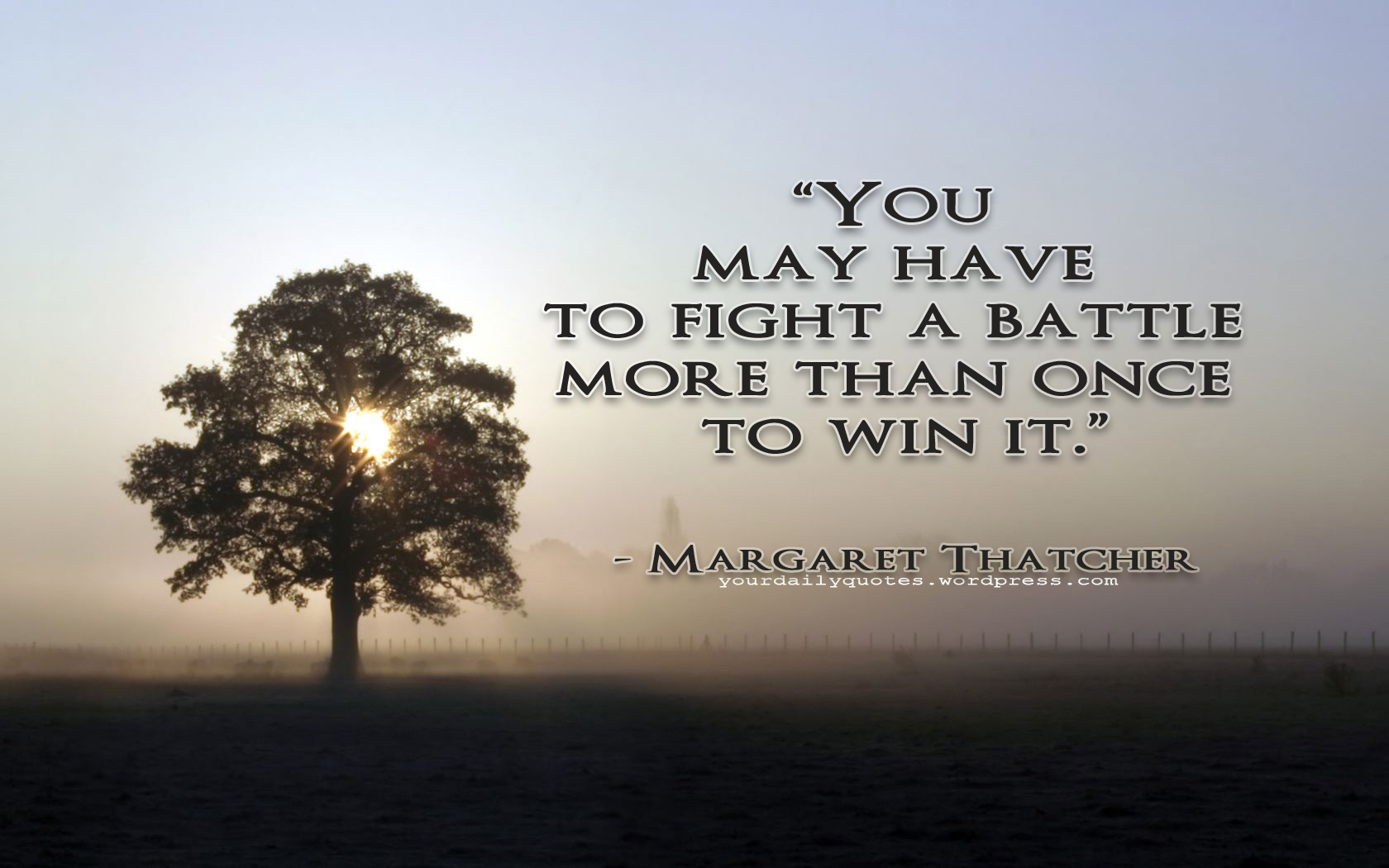 Battle quote #1