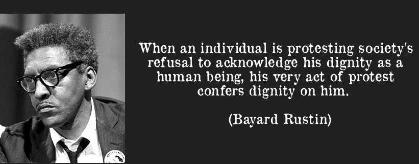 Bayard Rustin's quote #1