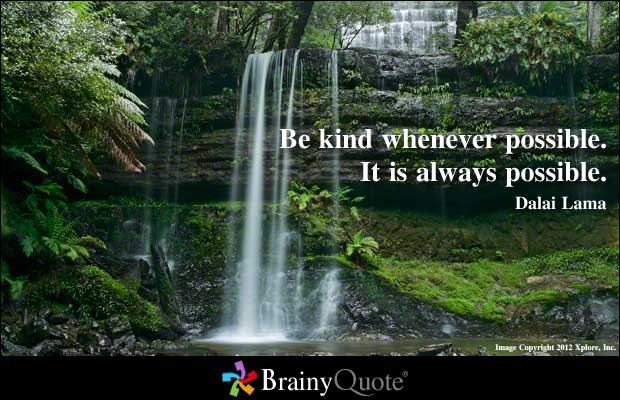 Be Kind quote #2