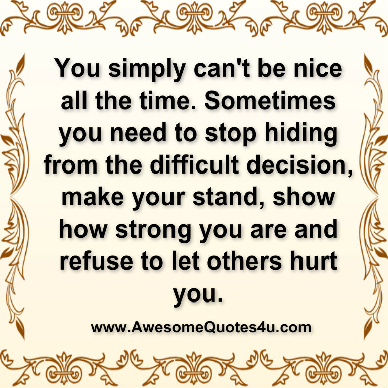 Be Nice quote #2
