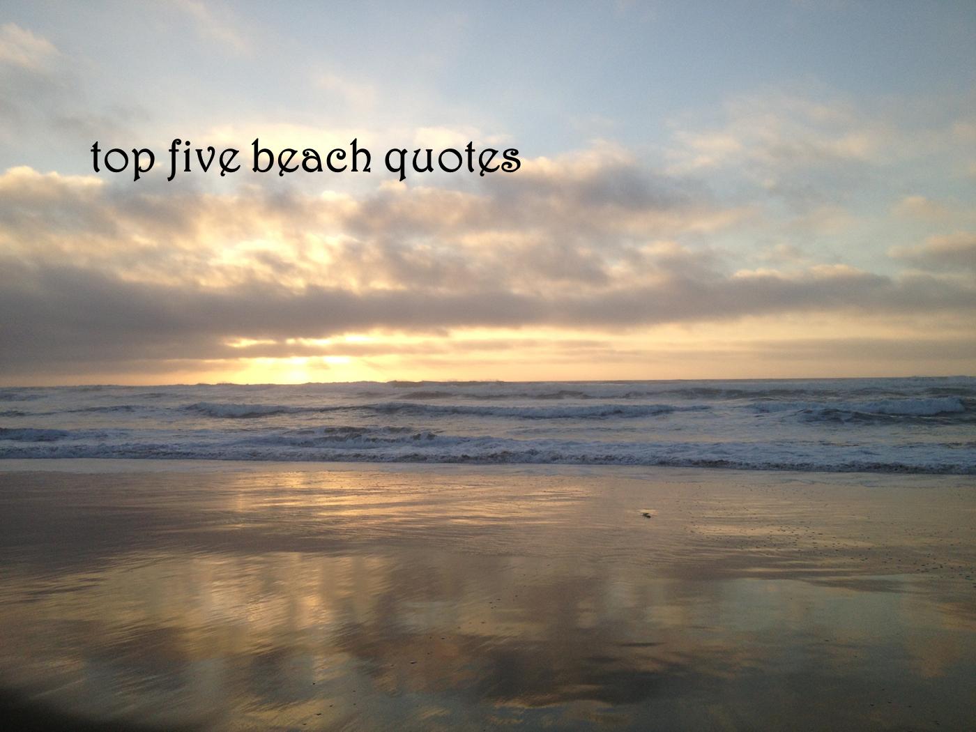 Beach quote #3