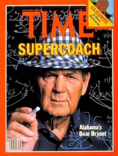Bear Bryant's quote #2