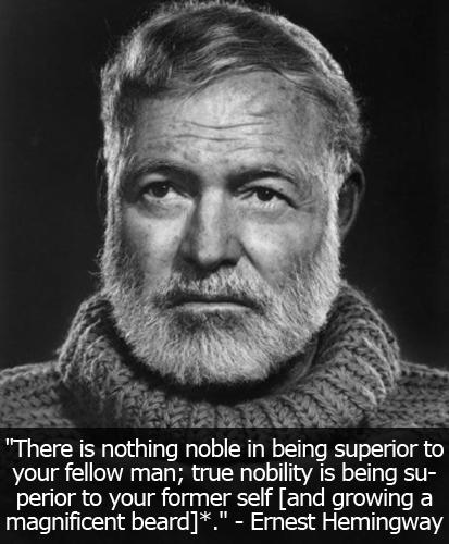 Beard quote #3