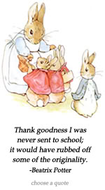 Beatrix Potter's quote #2
