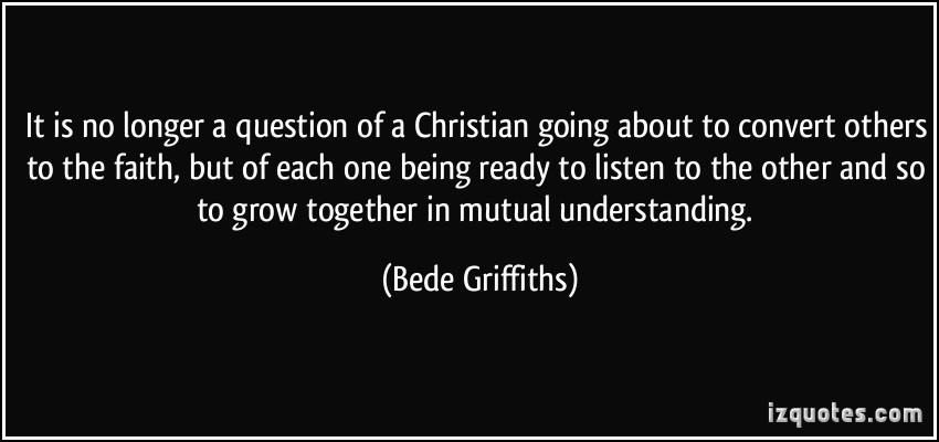 Bede Griffiths's quote #7