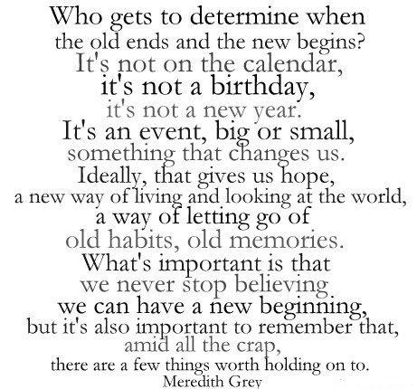 Beginnings quote #2