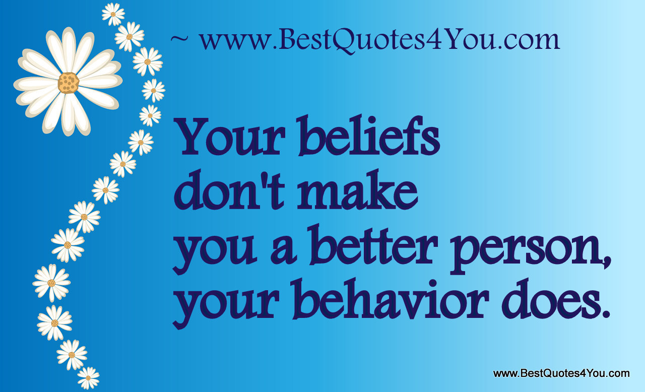 Behavior quote #5