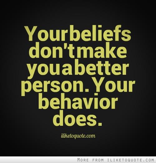 Behavioral quote #1