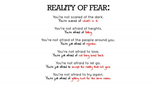 Being Scared quote #1