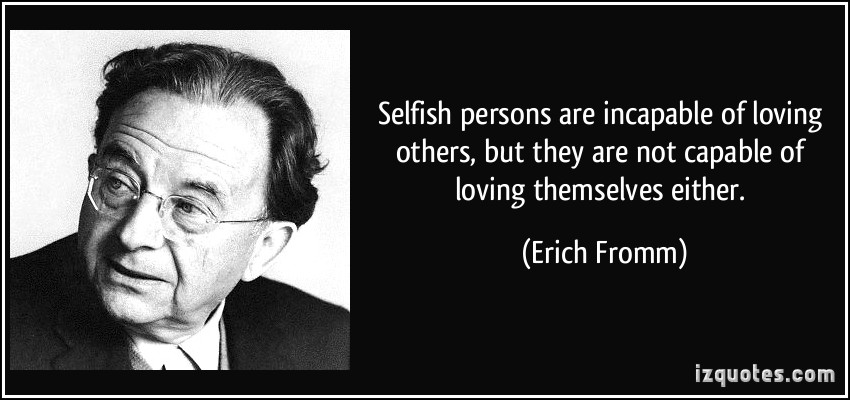 Being Selfish quote #2