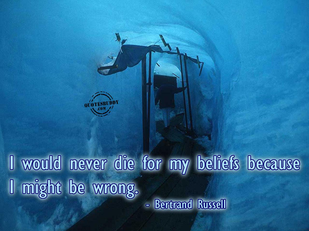 Beliefs quote #4