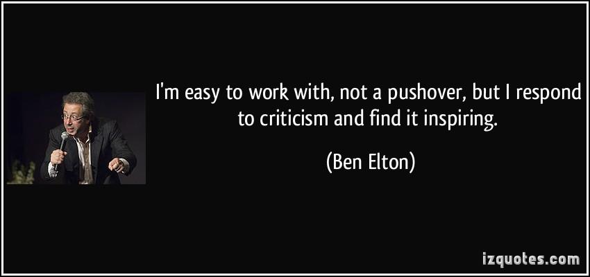 Ben Elton's quote #1