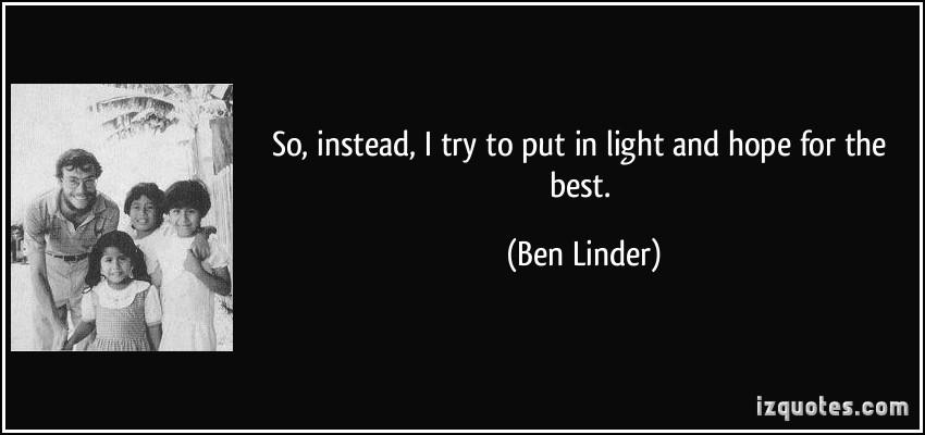 Ben Linder's quote #2