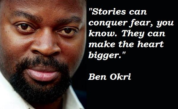 Ben Okri's quote #3