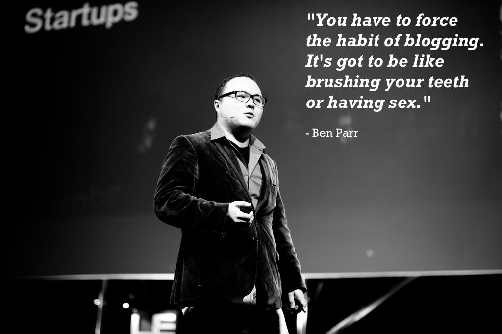 Ben Parr's quote #5