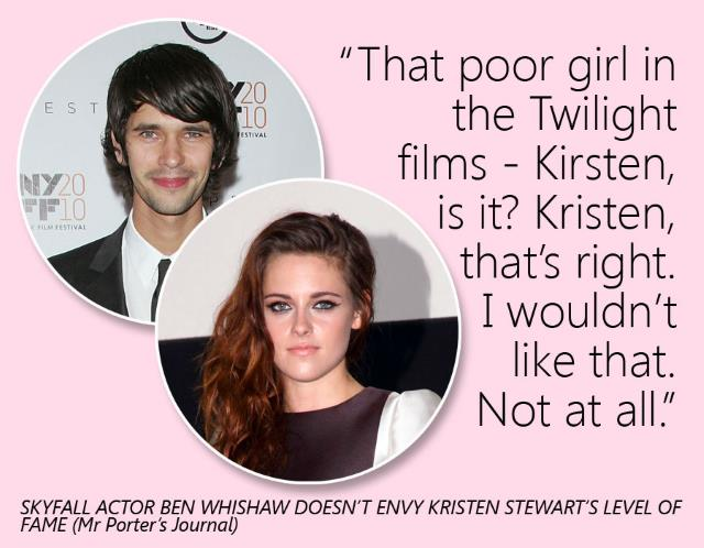 Ben Whishaw's quote