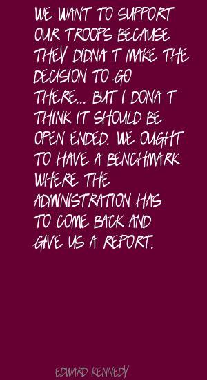 Benchmark quote #2