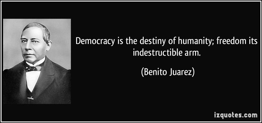 Benito Juarez's quote #1